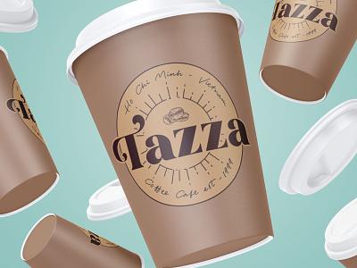 Tazza - Coffee Shop design vector adobe illustrator illustration dailylogochallenge branding logo graphic design