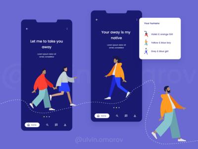 UI/UX Classic Blue App 2020 Trends