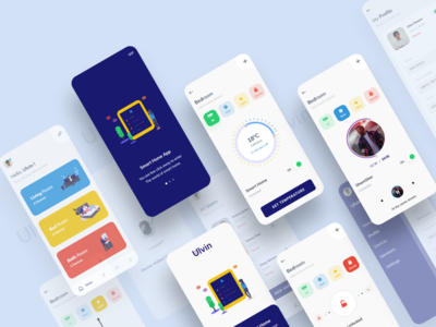 UX UI Smart Home App Design