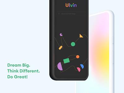 UI mobile design inspiration splash screen colorful app search screen mobile design daily ui ui inspiration pixel5