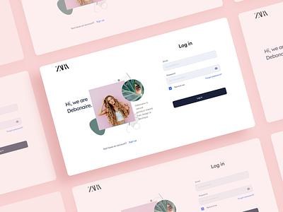 Zara login redesign landing page webdesign ux ui login webdesign ui inspiration ui ux login sign page login page zara