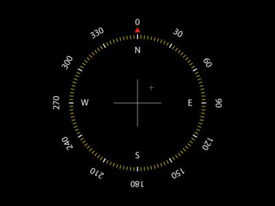 Compas for mobile app design