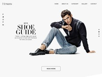 Man Fashion Ui Website