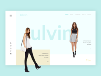 UI UX E-commerce Landing Page