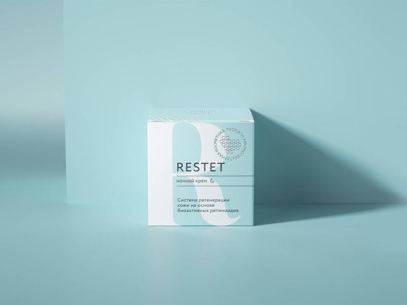Cosmetics packaging design 3d minimal box medecine typogaphy lettering cosmetics flat logo branding packaging