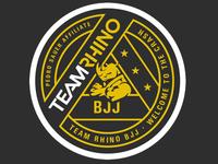 Patch Design 02 for Team Rhino BJJ