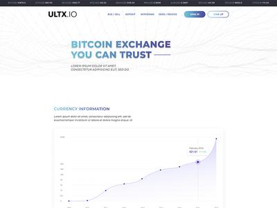 ULTX.io - Cryptocurrency Exchange