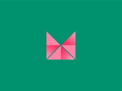 M logo icon symbol