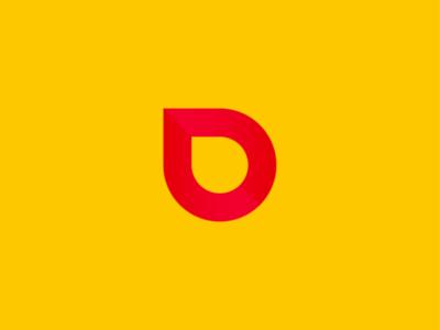 D symbol icon logo