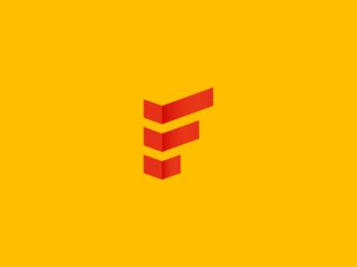 F logo icon symbol