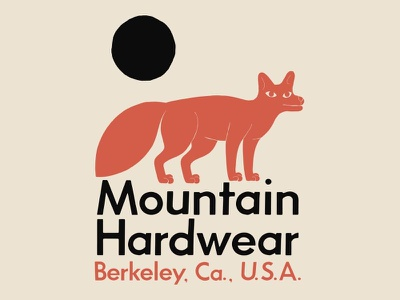 Mountain Hardwear Fox T-shirt apparel graphic illustration fox