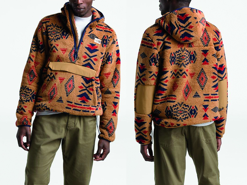 The North Face California Geo Print Fleece the north face apparel textile surface print