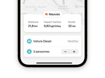 Ride app minimalist mobile ios design ux ui ride