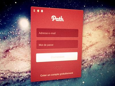 Path Login path login ui mac app