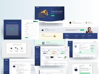 Swipe App Simple Case Study savings finance uiuxdesign product design web dribbble