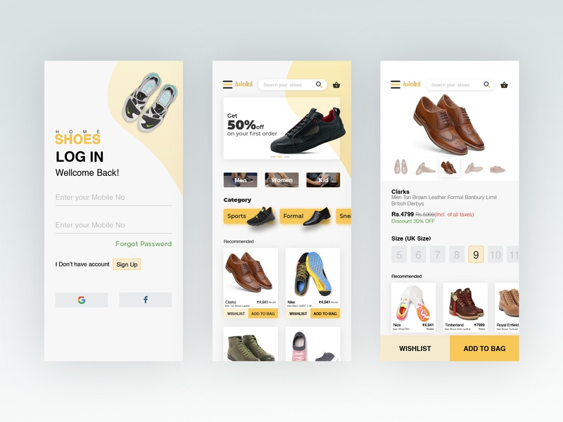 Shoes E-Commerce App