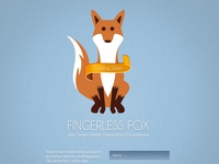 Fingerless Fox Construction page