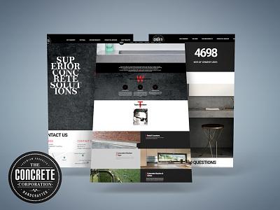Concrete Corporation Logo & Website