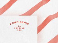 Branding for la Confiserie