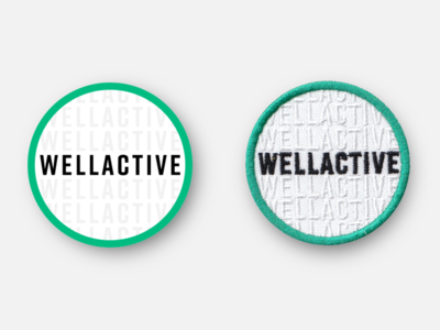 WellActive Health Promotional Patch
