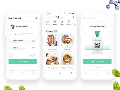 Ślimak App - Screens - FoodApp ios concept foodapp ux ui