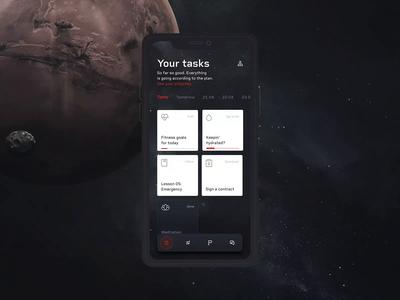 MARS One - Mobile App