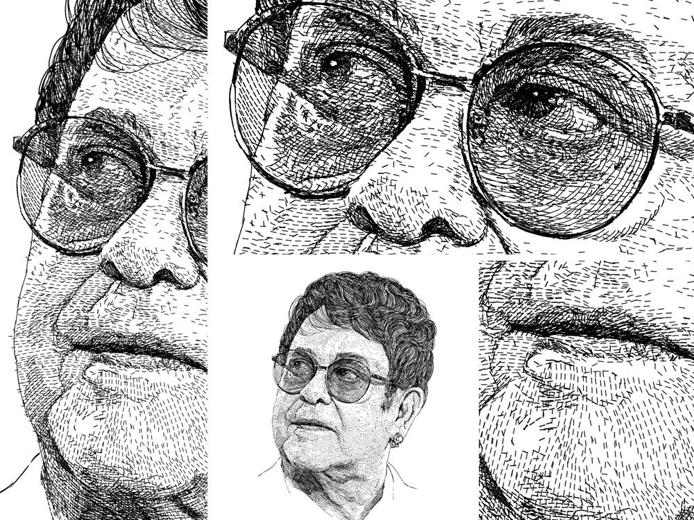 Portrait unique style artwork - Elton John figure fiverr.com fiverrgigs fiverr illustration design art commission open commissions commission singers musician music art digital drawing figuredrawing portrait art portrait elton john