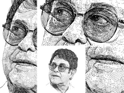 Portrait unique style artwork - Elton John