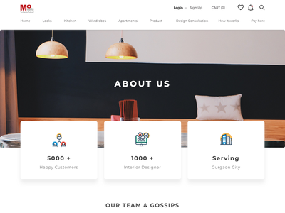 About Us about us screen ui  ux design