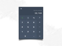 Daily UI | 004 — Calculator design
