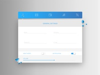 Daily UI | 007 — Settings