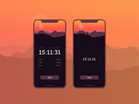 Daily UI | 014 — Countdown Timer