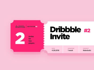 Dribbb Invite #2