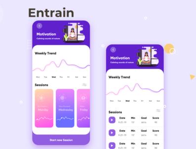 Entrain - Meditation app