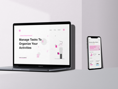 Klakh Mockup management app multimedia brief project job task ios app design website design best2021 trend2021 branding explore blog mobile app landingpage profile adobexd simple elegant clean