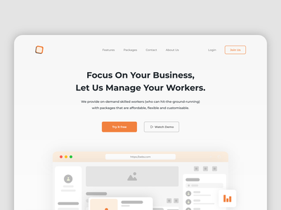 Oebs - Job Vacancy work business job vacancy website design services best2021 trend2021 project job service trending home blog landingpage branding adobexd explore simple elegant clean