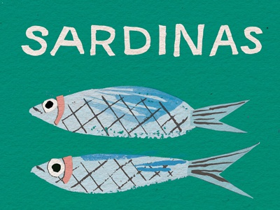 Sardinas sardines food fish
