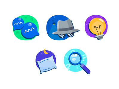 Busuu's learners vector branding design illustration