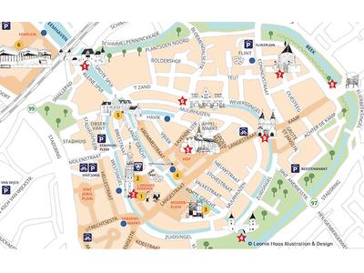 Map Amersfoort by Leonie Haas Dribbble