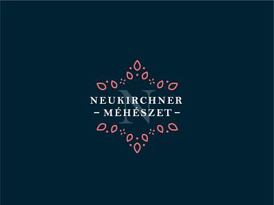 Neukirchner Bee Farm – Logo design typography logotype design branding monoline logo monolinear monoline logo design logodesign logo