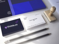 divinia.co business cards