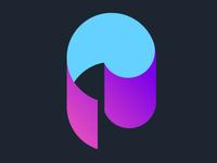 Paper swirl logo