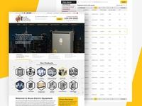 BEE Bruce Electric Equipment website redesign