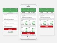 Mobile App for cricket
