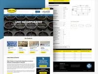 Lnd Inc website redesign
