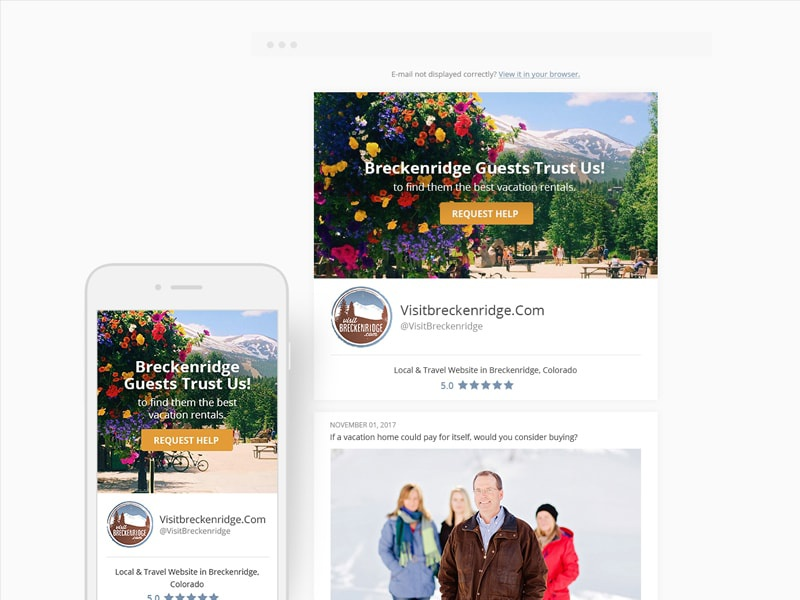 Responsive email design desktop tablet mobile responsive email newsletter email-design