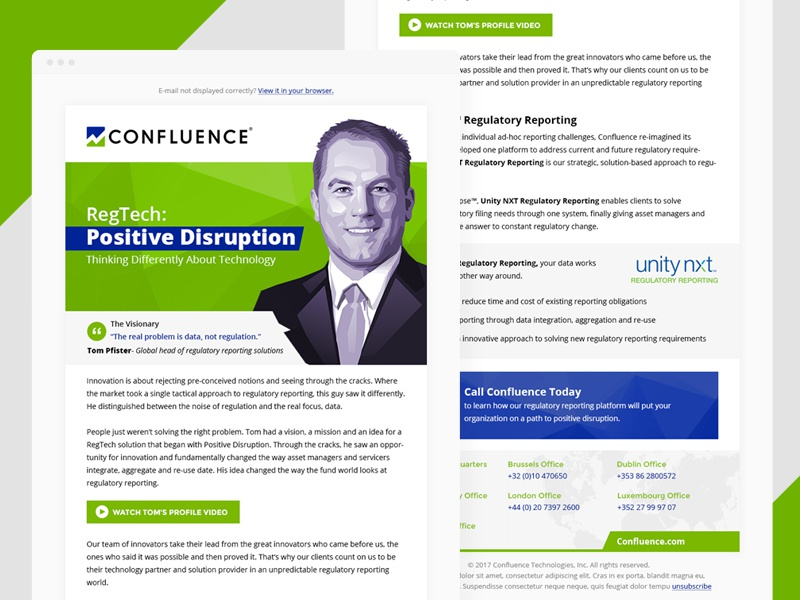 Confluence email design nxt unity business accounting confluence newsletter design email
