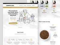 Joseph's Dog website design
