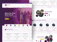 InteractiveParty website redesign