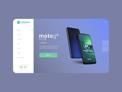 UI/UX Design: Concept Motorola amazing motorola creative design branding creative green blue alexltg web typography website ui ux design webdesign